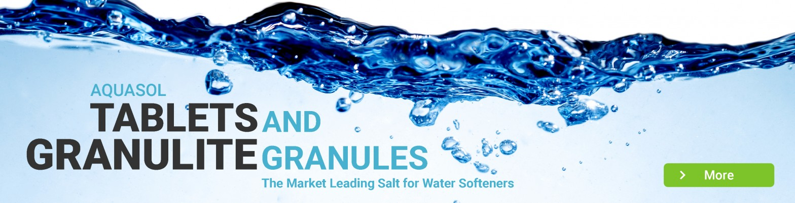 Water Softener - Aquasol Tablets and Granulite Granules