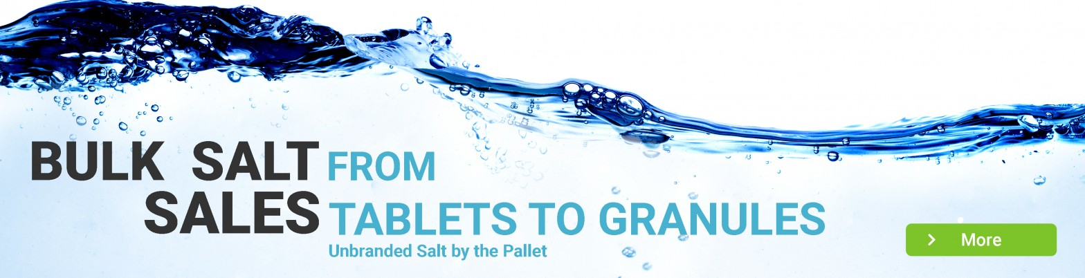 Bulk Salt Sales - Tablets and granules on offer!