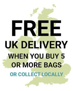 Free Delivery when you buy over 5 or more bags